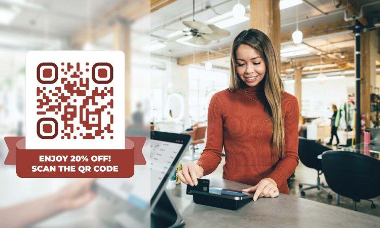 QR code generator for coupons