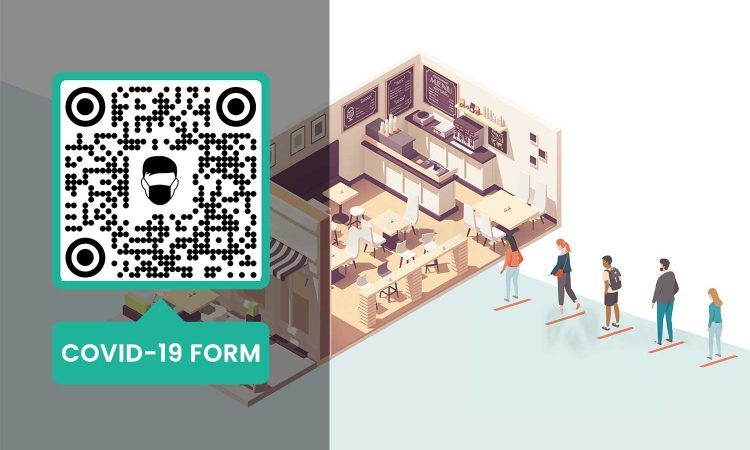 Create a Covid-19 declaration form QR Code