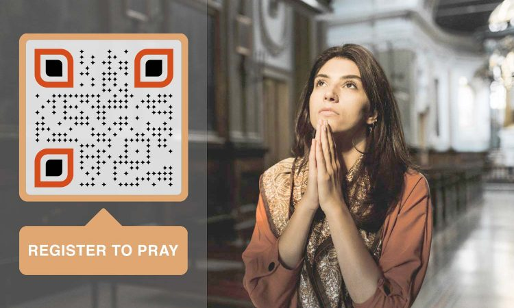 create a QR code for church and congregation