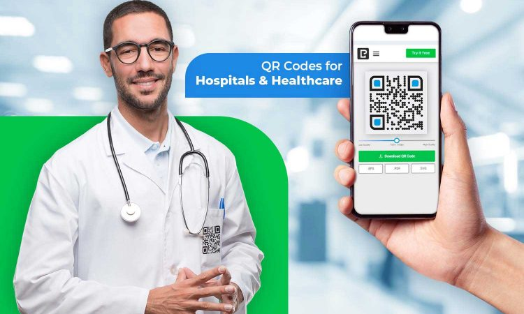 qr code maker for hospital and healthcare