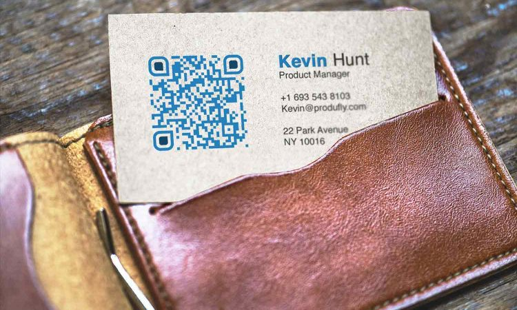 Guide to using QR codes on Business cards