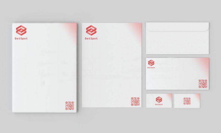 qr-códigos en papelería