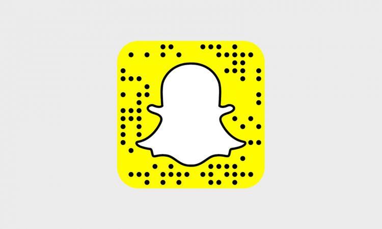 snapchat ile qr kodlarını tara